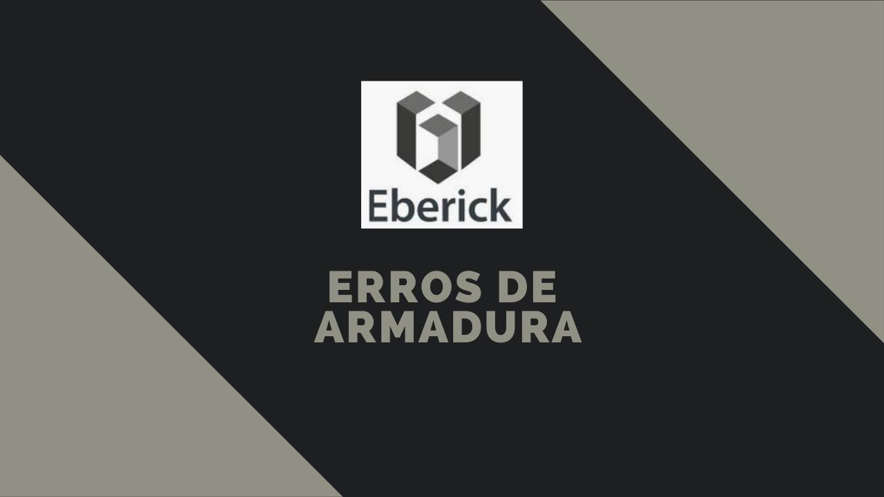 Erros de Armadura do Eberick