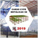 Curso Cype / Metálicas 3D 2019: Galpão e Mezanino