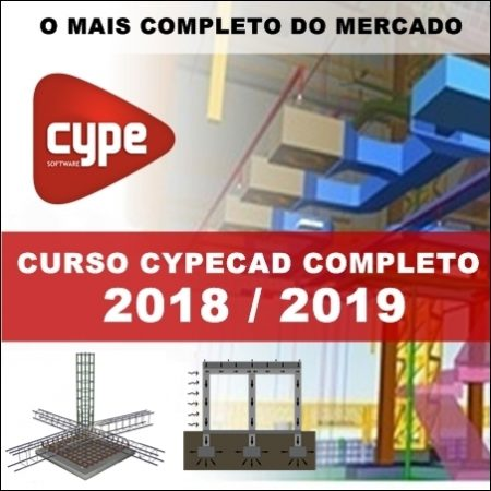 Curso Cypecad 2018/2019: Cálculo Estrutural