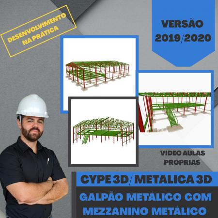 Cype 3D: Galpão e Mezanino