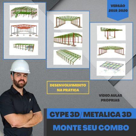 Super Combo: Cype3D (5 cursos)