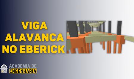 Bloco de Divisa e Viga Alavanca no Eberick